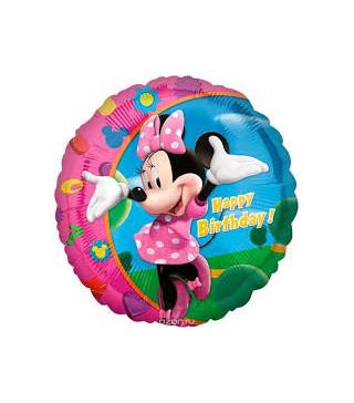 """Кулька 18""""Мінні З Днем Рождения 15566 Amscan"""