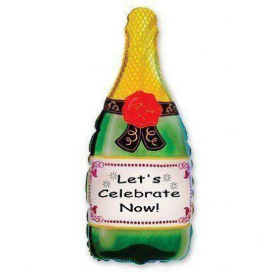 Шарик бутылка Шампанское