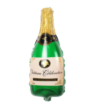 Кулька пляшка Шампанське