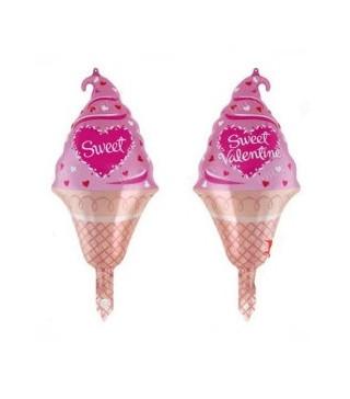 Шарик фольгированный мини Мороженое