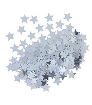 Конфеті зірка срібло 15 гр. 90371 Unigue