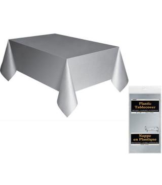 Скатертина срібла 137см/2,74см Поліетилен 5083 Unigue