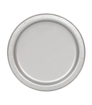 Тарілки сріблі 8шт/уп 03344 Unigue