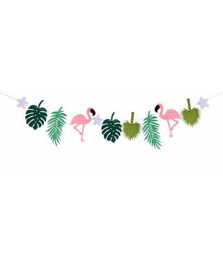 Гирлянда Фламинго