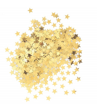 Конфетти звездочки золотые 14,1г