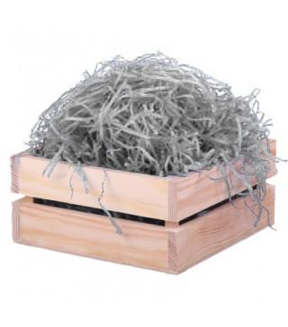 Пакувальна упаковка Наповнювач стружка сіра 100г. папір 0338 Україна
