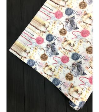 Пакувальна упаковка Подарунковий папір Киця(поштучно) 07881 MARTA