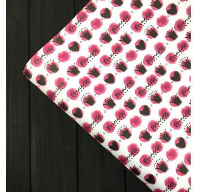 """Пакувальна упаковка Подарунковий папір""""Princess"""" (поштучно) 07884 MARTA"""