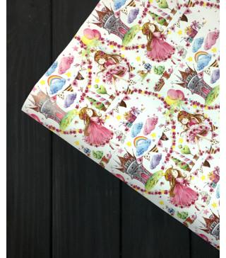Пакувальна упаковка Подарунковий папір Принцеса (поштучно) 07882 MARTA