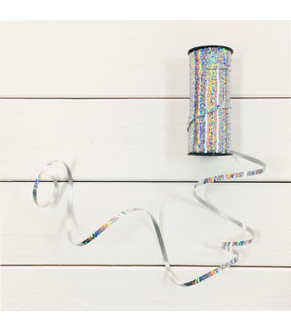Стрічка срібло голограма1шт 45002 Unigue