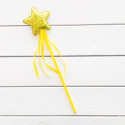 Чарівна паличка Зірочка золота з блисками 62005 Godan