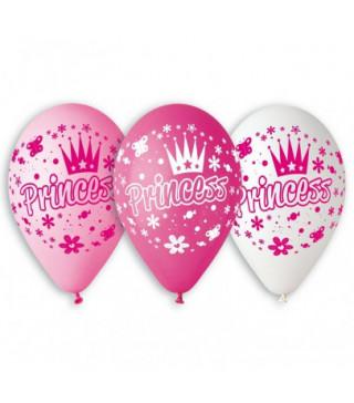"""Кульки пастель 12"""" Princess 100шт/уп GS110/202 90707 Gemar"""