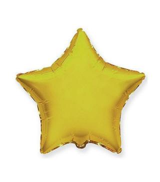 Кульки фольг.б/м Зірка сатин золотая(3г) 55003 Китай