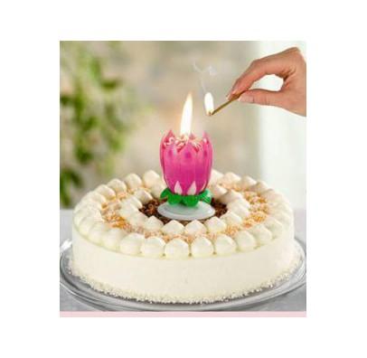 Свеча для торта Лотос 1шт/уп