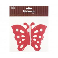 "Декорація Гірлянда ""Метелик."" 300см папір 64639 Godan"