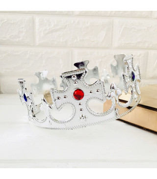 Корона Царя срібла пластик 0214 Китай