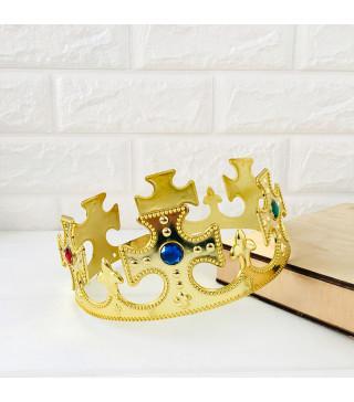 Корона Царя золотая