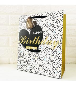 "Подарунковий пакет ""Happy Birthday"" To you32*26*12cv 731919 Китай"