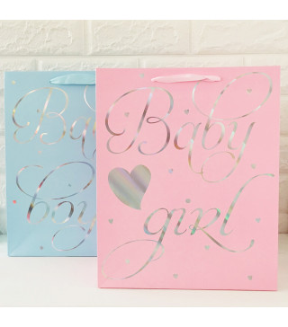 Подарунковий пакет Baby Boy/Baby Cirl 32*26**10 45052 Китай