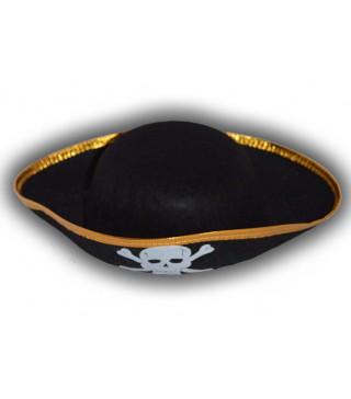 Капелюхи,шапки Пірата з краями 35 см фетр S-1138 Китай