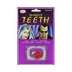 Карнавальные зубы вампира и...