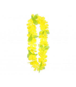 """Леї гавайські весняні жовто-зелені"""" пластмаса, тканина 11641 Godan"""