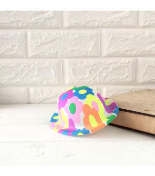 Капелюхи,шапки Котелок дитячий. асорті пластик 1105 Китай