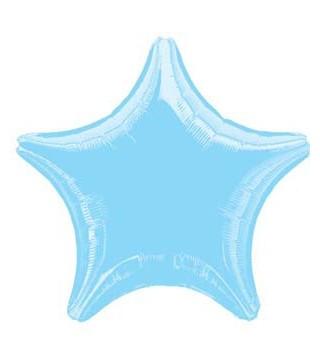 Кулька фольгована Зірка блакитна