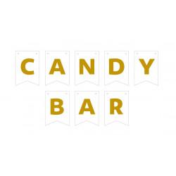 Гірлянда прапорці Candy Bar