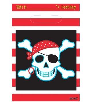 Подарочные пакетики Pirate 8шт/уп