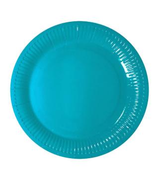 Тарілки Блакитні 8шт/уп