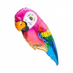 Кульки міні Папуга рож. фольга 902540 FlexMetal