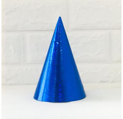 Ковпачок Голографічні сині. 1шт. матеріал, резинова, стрічка 68204 Godan