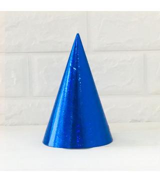 Колпачок Голографический синий 1шт