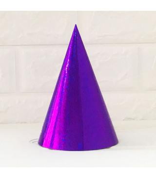 Колпачок Голографический фиолетовый 1шт