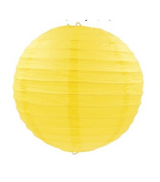 Декорація Підвіска Ліхтарі паперові жовті. 30 см 1шт 15141 Китай