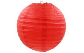 Декорація Підвіска Ліхтарі  паперові червоні. 30 см 1шт 15142 Китай