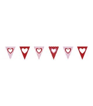 Гірлянда прапорці Sweet Love