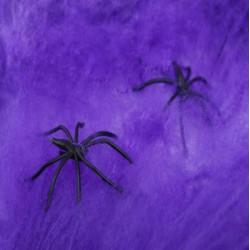 Декорація павутина фіолетова капрон G-006 Китай