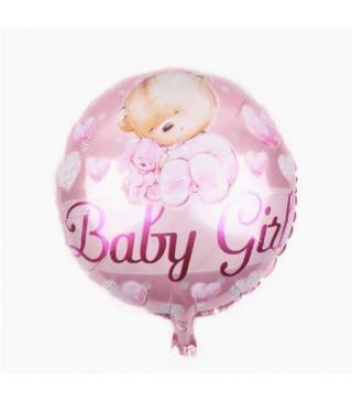 Кульки фольг з малюнк. Baby Boy теді рож. 215141 Китай