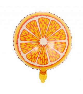Кульки фольг з малюнк. Апельсин 45см.(2,5пор) 215138 Китай