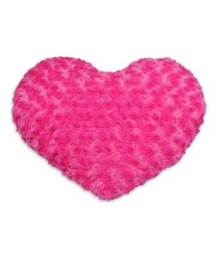 Подушка-іграшка Сердечко рожеве