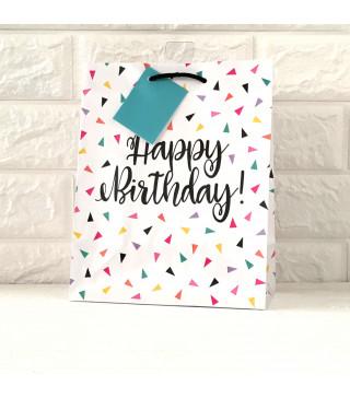 Подарунковий пакет Happy birthday 73159 Unigue