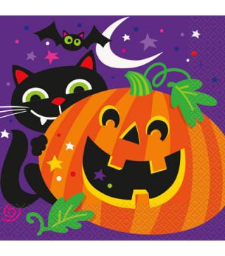 """Серветки """" Happy Halloween 16шт/уп 46492 Unigue"""