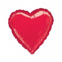 Повітряна кулька серце міні червона FlexMetal