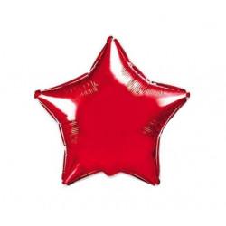 Кульки фольг.б/м ЗІРКА середня червона фольга 302500(R) FlexMetal