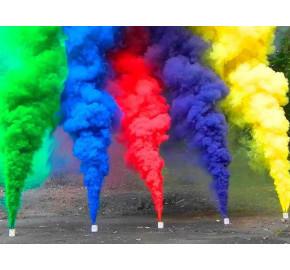 Разноцветный дым