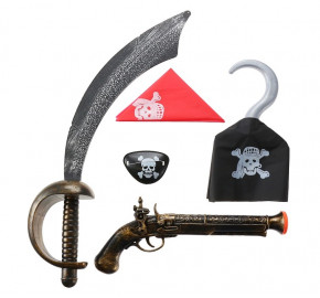 Іграшкові пістолети, мечі та ін.