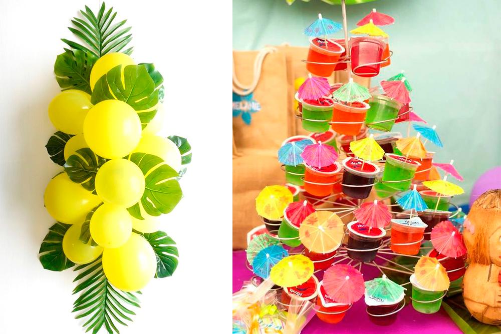 спорте атрибуты для вечеринки в гавайском стиле фото последствия такого